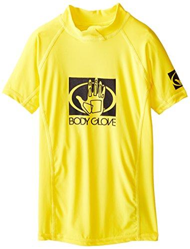 Body Glove traje de Co Junior Basic Fitted manga corta erupción guardia
