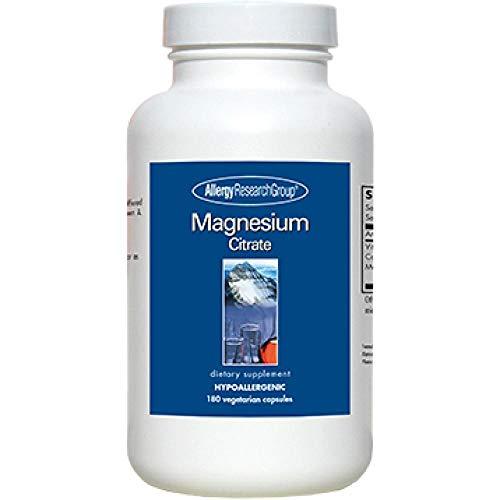 Allergy Research Group - Magnesium Citrate, 180 Gemüsekapsel