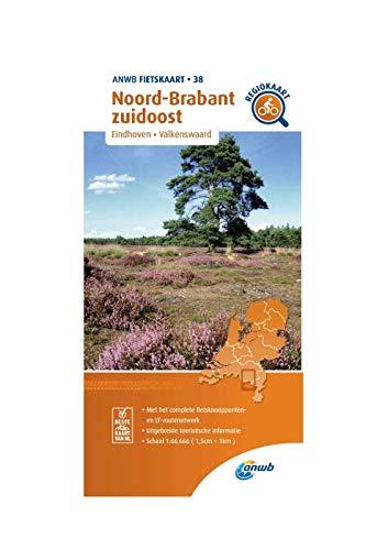 Fietskaart Noord-Brabant zuidoost 1:66.666: Eindhoven, Valkenswaard