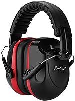 ProCase Casco Antiruido, Protector Auditivo SNR 34 dB Aislante de Ruido Profe...