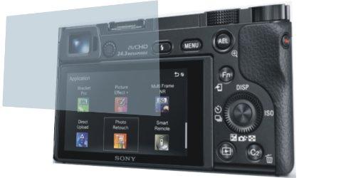 4ProTec I 4X ANTIREFLEX matt 3D Touch Schutzfolie für Sony Alpha 6000 Premium Displayschutzfolie Bildschirmschutzfolie Display Schutz Glas Schutzhülle Displayschutz Displayfolie Folie