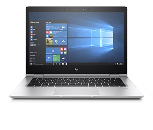 HP Elitebook X360 1030 G2 Notebook PC Convertibile, Intel Core I5-7200U, RAM 8 GB, Display 13.3' FHD 1920 x 1080 Touch, SSD da 256 GB, 4G LTE, Argento