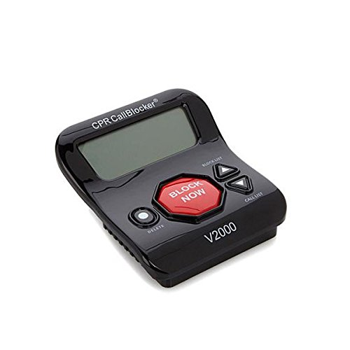 CPR Call Blocker V2000 - Pre-Programmed with 2000 Scam Numbers Plus The Ability to Block A Further 1500 Numbers at The Touch of A Button. Caller ID Service is Required