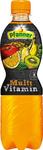 Pfanner Multivitamin, mit Vitaminen ACE - 24x 500 ml