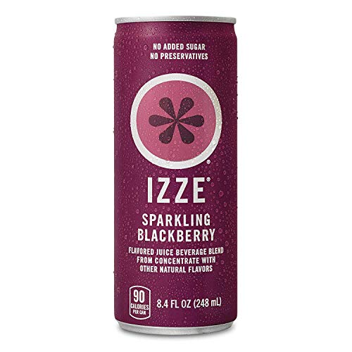 IZZE Sparkling Juice, Blackberry, 12-Count Now $7.87