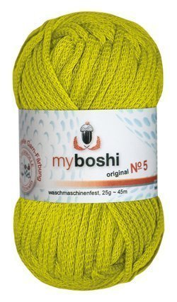 Myboshi Nr. 5, alle Farben, 3x Wolle kaufen = 1 Label gratis (515 avocado)