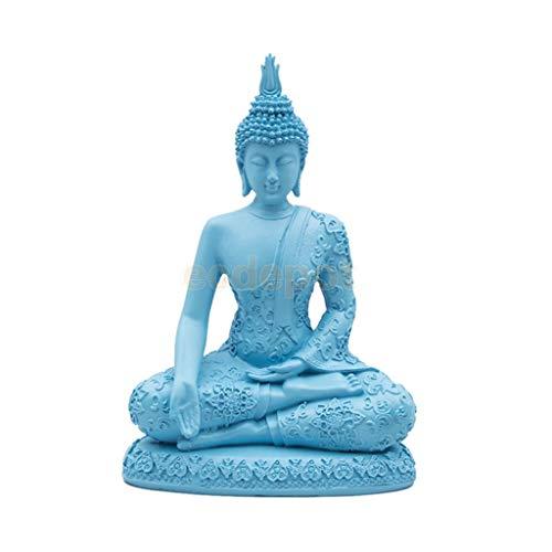 Resina Buddha Stone Effect Garden Outdoor Indoor Statue Ornament Thai