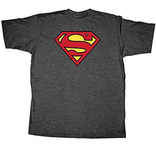 Toy Zany Superman Classic Logo Grey...
