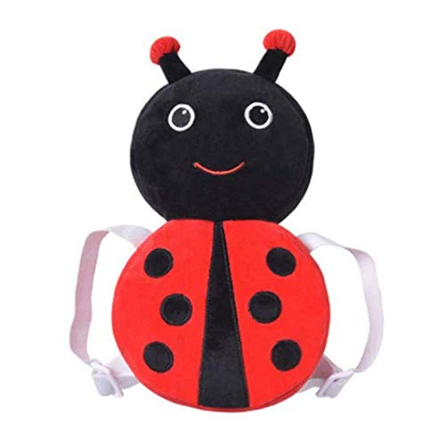 Zymy Kopfschutz für Babys, Kleinkinder, verstellbar, Sicherheitspolster für Babys und Spaziergänger, niedliche kleine Biene, Fuchs, Bär