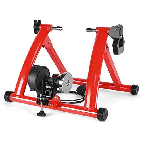 Dvuboo Cyclette da Casa Spinning Bike Professionale per Casa Bici da Spinbike Cyclette Fitness Palestra Workout, Regolazione del Sellino & Manubrio, Ottimo per Un Allenamento di Tipo Casalingo,Rosso