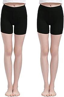 سروال داخلي قصير من Vinconie قصير للنساء سروال ضيق تحت الفساتين