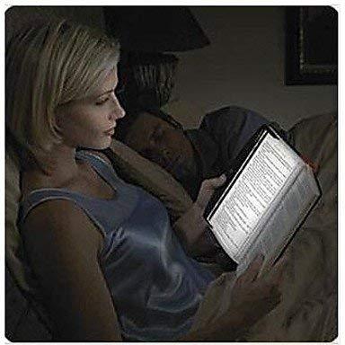 FVLU lampe led lumière coin du panneau pour voyager lecture du livre en voiture / lit poche nuit
