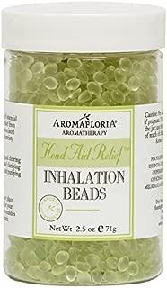 Aromafloria AromaRemedy Head Aid Relief Inhalation Beads, 2.5 oz