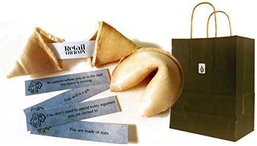 Greenfire Custom Fortune Cookies, for Advertising and Promotions, Full Color Fortune Printing, Premium Vanilla, Bulk Quantity (500 count)