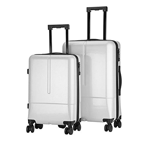 Learn More About Hardside Spinner Luggage 20in 24in Nested Spinner Sets Waterproof Luggage 2 Piece S...