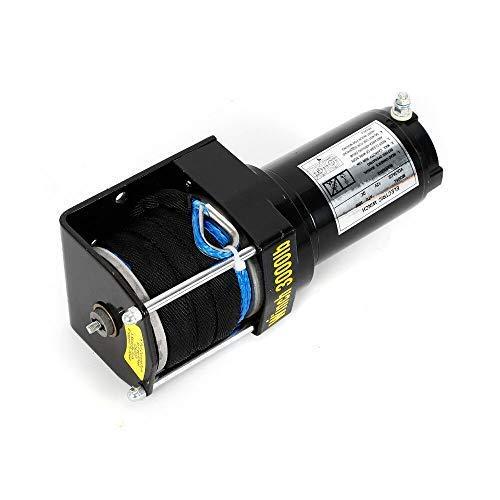 12V 3000LB Cabrestante Eléctrico Motor Cable de...