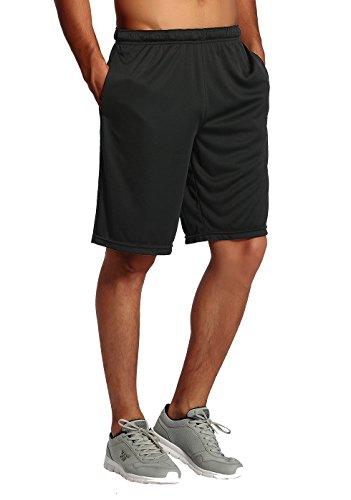 CYZ Men's Performance Jersey Short-Black-L