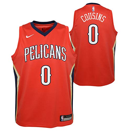 Outerstuff Demarcus Cousins New Orleans Pelicans NBA Nike Youth Red Statement Swingman Jersey