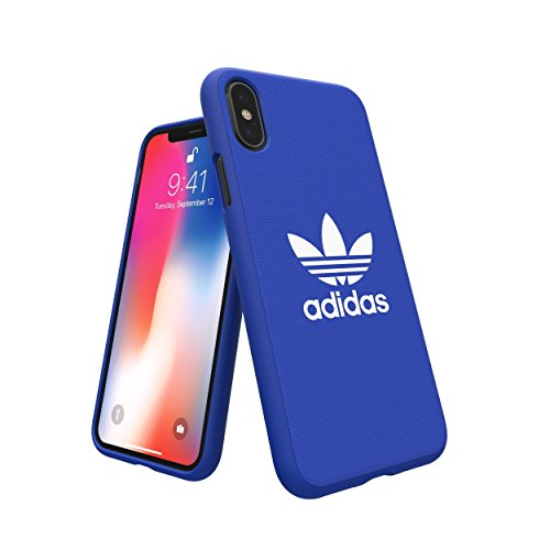 adidas 29947 Originals Adicolor Moulded Hülle/Cover für Apple iPhone X, Blau