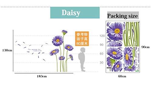 Bloem glas sticker muurstickers DIY bloemen muurschildering Decals voor glazen schuifdeur Home decoratie winkel etalage, 07