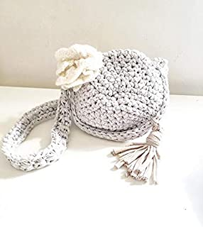 Trendy bag made in yarn T-shirt