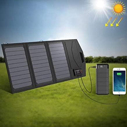 Walmeck Charger Fast Charging DIY Outdoor Moving Portable Travel Generator Power Monocrystalline Silicon USB Phone Solar Panel