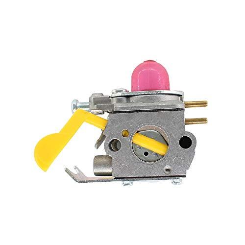 SDFDS Carburador Carb Compabible for Zama C1U-W18 Poulan Craftsman Trimmer Weedeater Reemplazar 530 071 752 530 071 822 545 081 808 Duradero 120