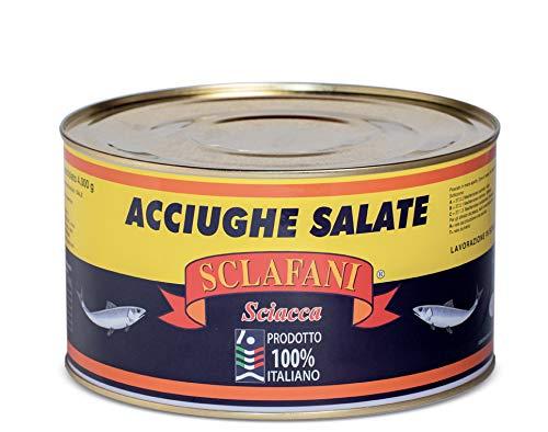 Acciughe Salate di Sciacca 100% artigianali 5 Kg.