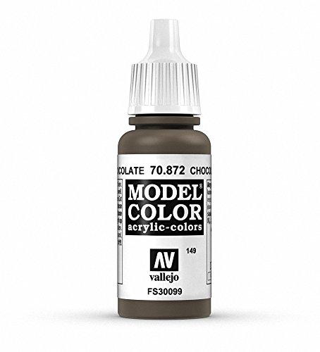 Vallejo Model Color Pintura Acrílica, Marrón (Chocolate), 17 ml
