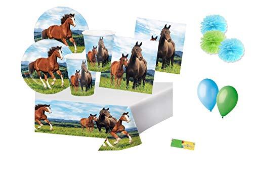 Creative Converting Kit n.49 Cavalli Verde