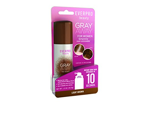 Everpro Gray Away Root Conceal Light Brown 1.5oz, 1.5 Oz