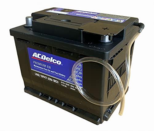 [セット品]ノアHV ヴォクシーHV アルファードHVなどに適合 ハイブリッド車用補機バッテリー ACデルコ LN2、...