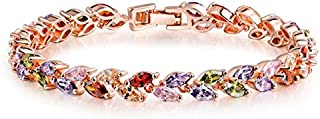 Yellow Chimes Non Precious Metal Bracelet for Women (Multi-Colour)(YCMCBR-LF-007550MC)