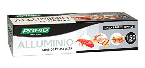 Rapid 00701115RAP9 Alluminio, Argento, 1 Pezzo