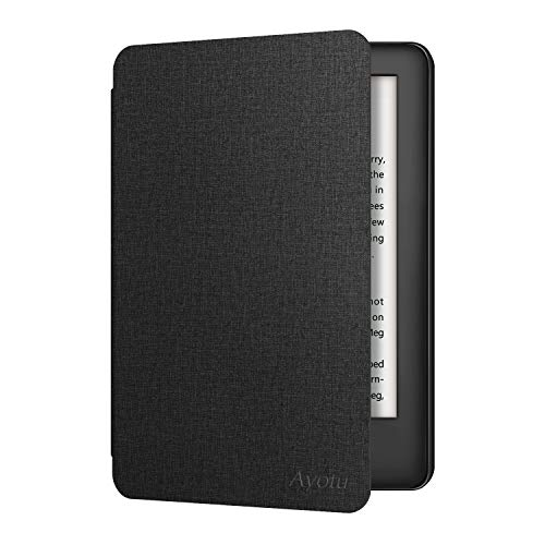 Caso OLAIKE para Todos los Nuevos Kindle 10ª Gen 2019 Release, Cubierta Ligera for Amazon Kindle (10ª Gen 2019 sólo versión-no se adaptará a Kindle Paperwhite o Kindle Oasis), Black