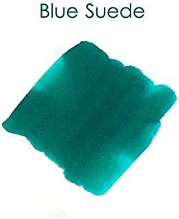 Pack/12 Private Reserve Fountain Pen Ink Cartridges, Blue Suede
