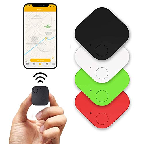 Key Finder,4 Pack Bluetooth Tracker, Item Locator GPS Tracking Device APP Control Compatible iOS Android for Keys, Pets, Phone, Wallet, Handbag Children and More