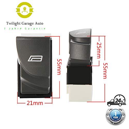 Twilight Garage 735315619 - Interruttore per finestra elettrico per Fiat Ducato Bus 244, Z