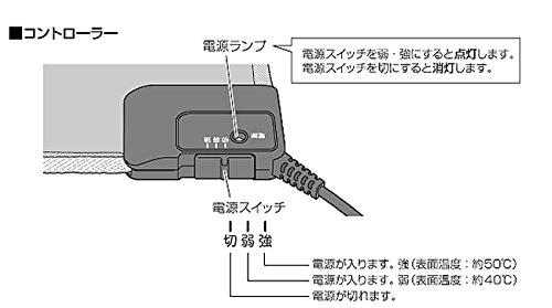 『アイリスオーヤマ ホットカーペット ホットマット 45×45cm ブラウン HC-45S-T』のトップ画像