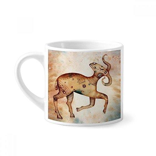 DIYthinker maart april Ram sterrenbeeld Zodiac Mini koffiemok wit aardewerk keramische beker met handvat 6oz Gift