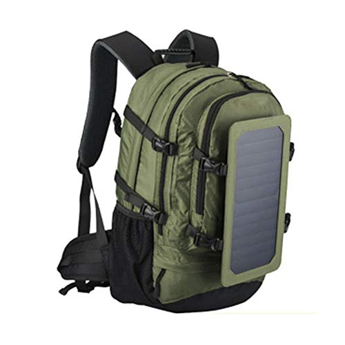 DYYTR Solar Backpack with Detachable USB Fast Charge, Solar Panel Laptop Backpack Travel...