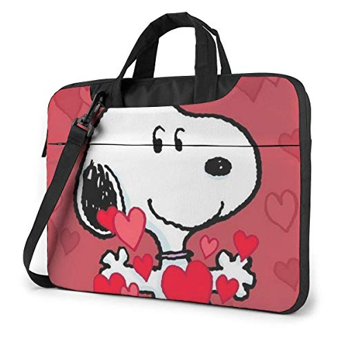15.6″ Business Travel SNO-opy Heart Laptop Notebook PC Briefcase Shoulder Messenger Bag Case Sleeve