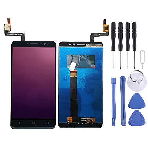 Cqu repareren van het LCD-scherm, mobiele telefoononderdeel van het nieuwe zwarte LCD-scherm en Digitizer Full Assembly for Alcatel A3 XL 9008 / 9008X / 9008D / OT-9008 / OT9008 Smartphone, zwart