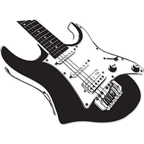 Vinilo adhesivo para guitarra - Vinilo adhesivo eléctrico troquelado impermeable - Peel...