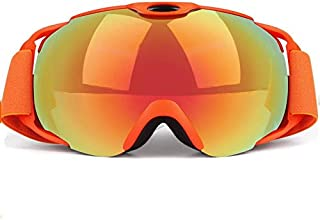 cjcaijun - Gafas Gafas de esquí de invierno Equipo de gafas de esquí esféricas antivaho grandes Gafas de sol