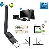 Antena WiFi Universal RT5370 dongle inal/ámbrico para decos//receptores satelite viark gtmedia openbox amiko mag Ferguson freesat