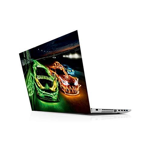 Double-sweet Skin universal para ordenador portátil de 13 14 15 15.6 16 17 19 pulgadas (incluye adhesivo para Mac, Dell, Acer, HP, Toshiba, Asus-19' (40.5 x 27 cm)