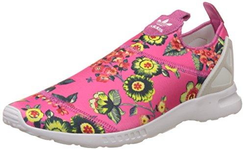 adidas Damen ZX Flux Smooth Slip-On, Mehrfarbig (Pink 001), 37 1/3 EU