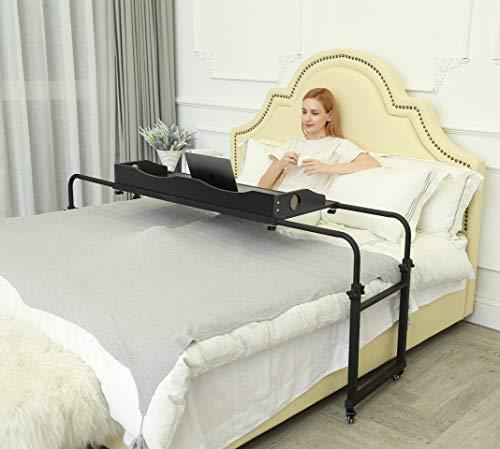 UNICOO Height Adjustable Overbed Table