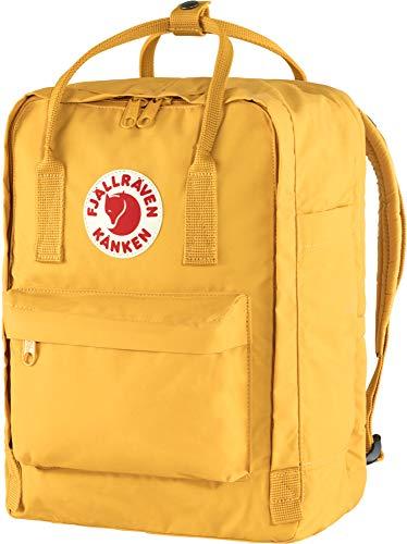 Fjallraven Unisex's Kånken Laptop 13' Backpack, Ochre, OneSize